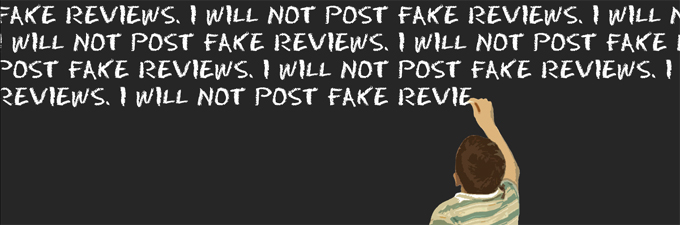 I will not post fake reviews