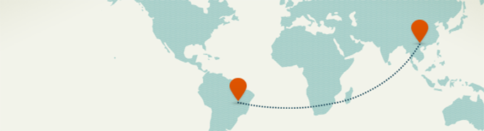 Map of the world - move anywhere with GoodMigrations
