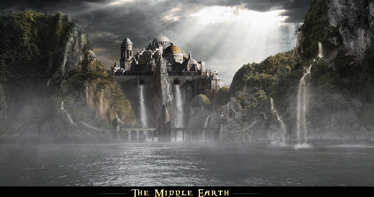 J. R. R Middle- Earth mythological places