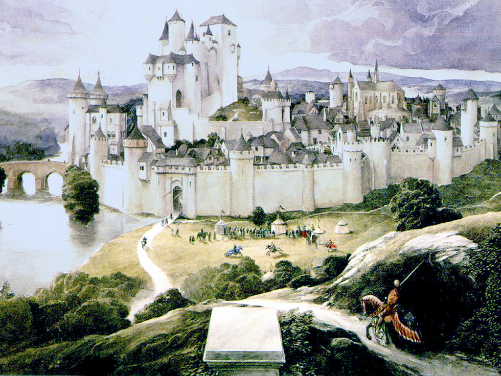 King Arthur's Camelot mythological places