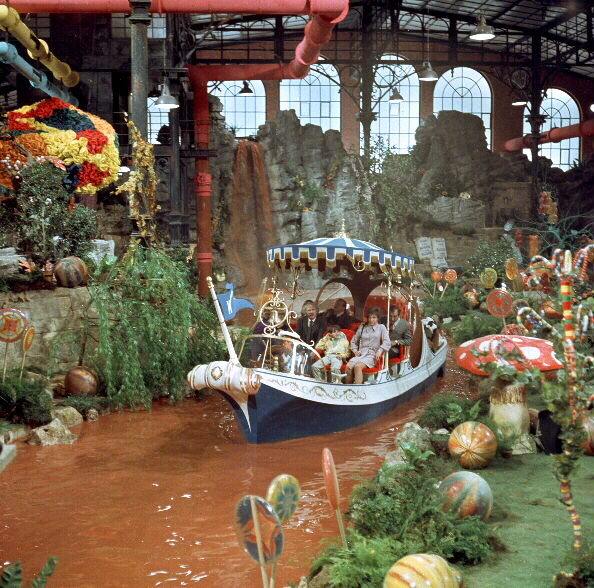 Willy Wonka and the Chocolate Factory Mythological places