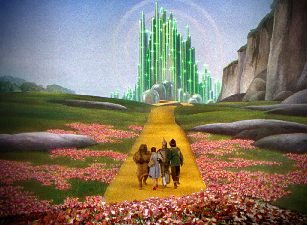 Wizard of Oz mythological places