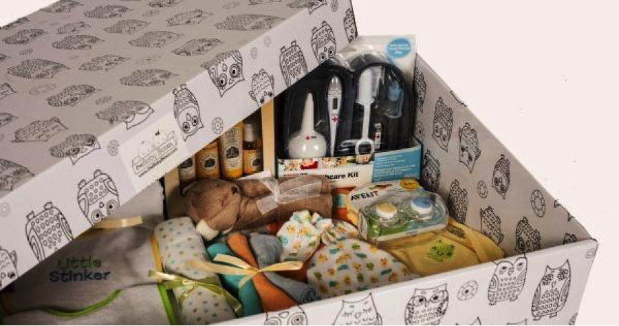 Babies and benefits Finland Baby box
