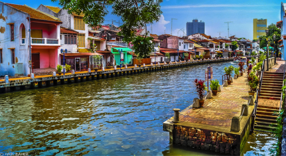 Malacca Waterway, Malaysia. Photo by Hadi Zaher