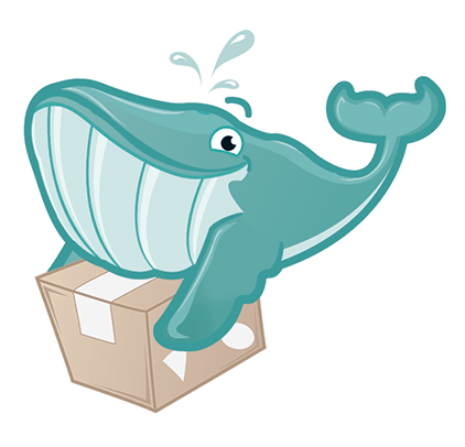 GoodMigrations Whale Mascot