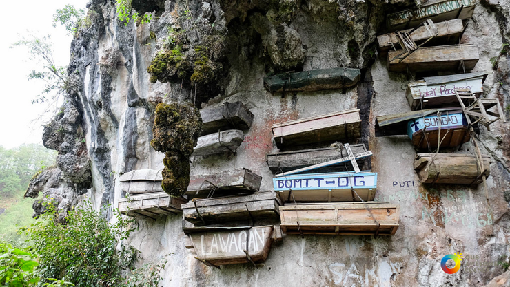 The hanging coffins of Sagada, The Phillippines