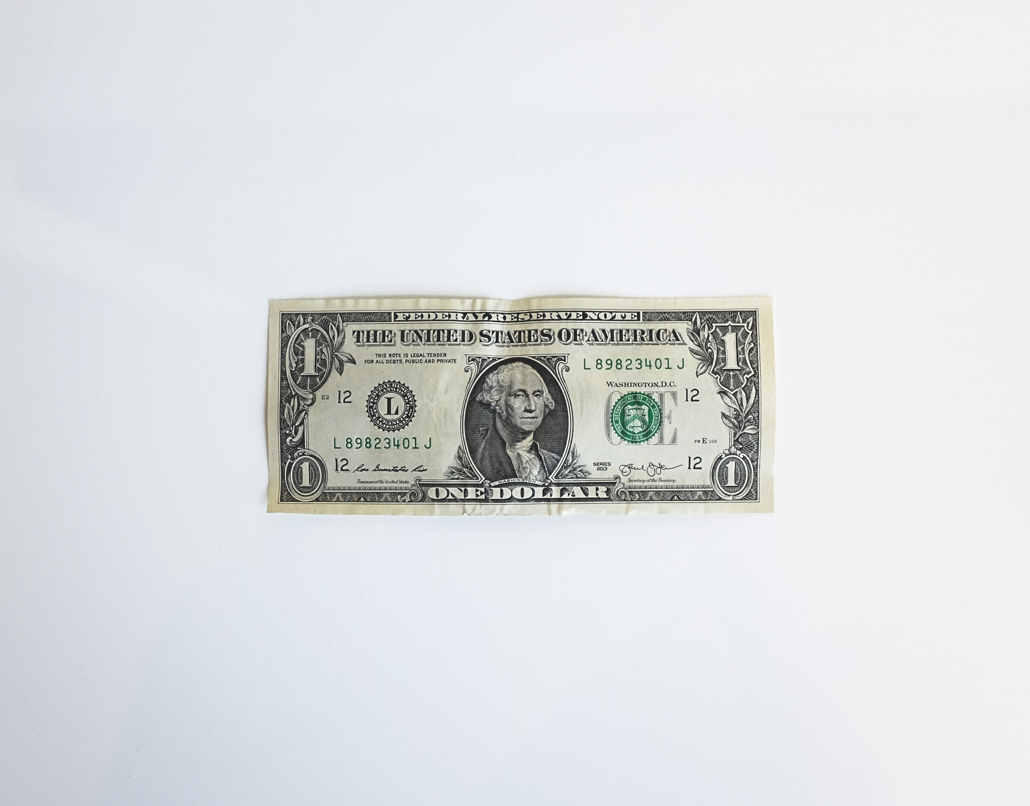 U.S. Dollar Bill- Money
