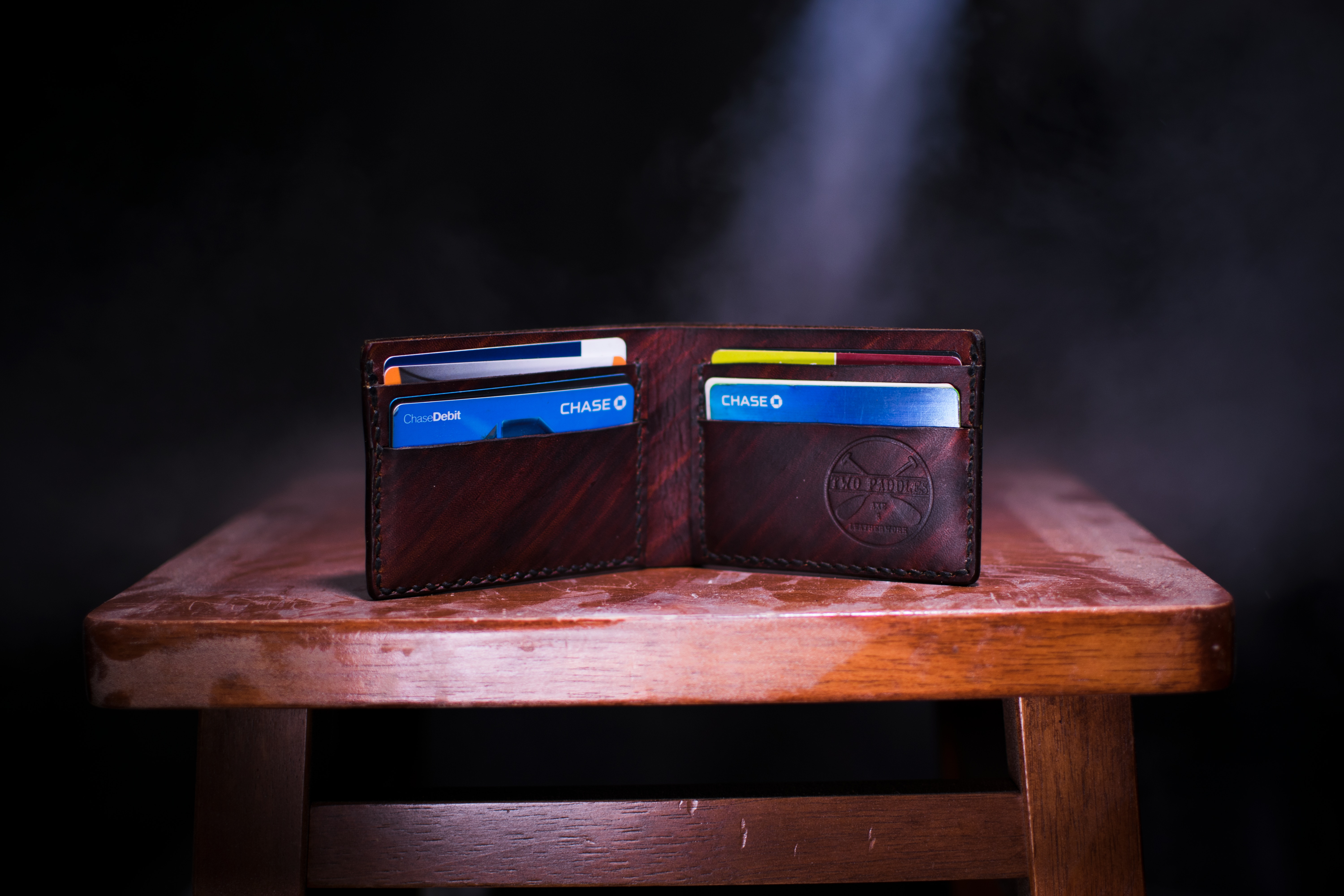 wallet with credit cards for GoodMigrations