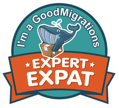 GoodMigrations Expert Expat Badge